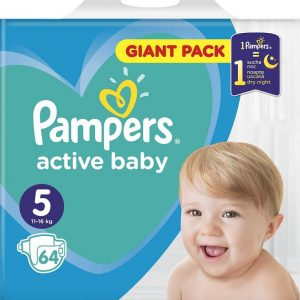 pampers active baby giant n5