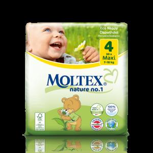 845d4dabedc Moltex Maxi no4 7-18kg 30 τεμαχίων