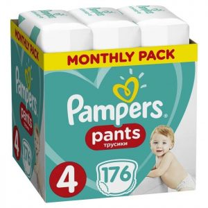 pampers pants no4