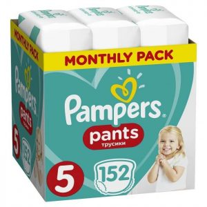 pampers pants no5 monthly pack