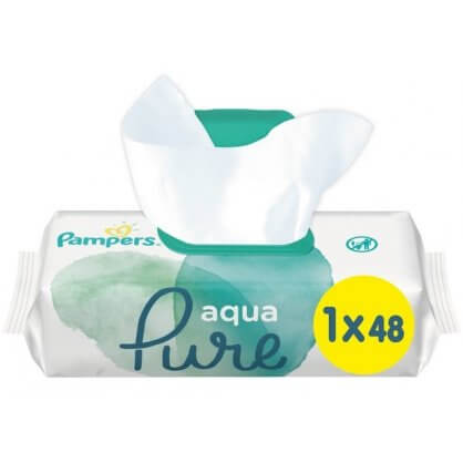 Pampers Aqua Pure Μωρομάντηλα