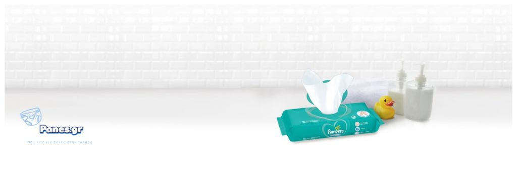 pampers μωρομαντηλα fresh clean panes.gr